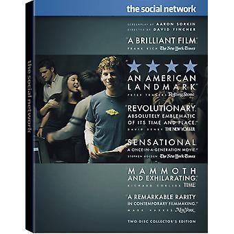 The Social Network [2 Discs] [DVD] USA import