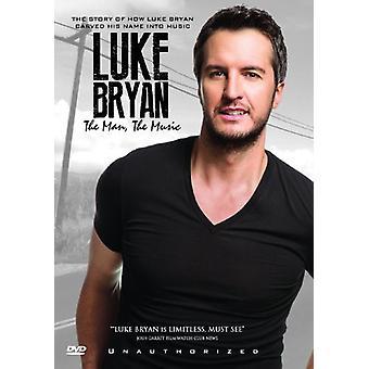 Luke Bryan - mand musik [DVD] USA importen