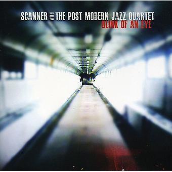 Scanner med Post moderne Jazz Quarter - Blink i øjet [CD] USA import