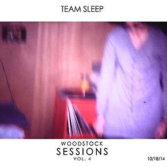 Team Sleep - Woodstock Sessions Vol. 4 [CD] USA import