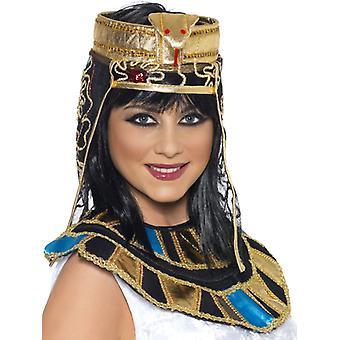 Cleopatra Hat Kopfbeckung Crown Egyptian Pharaoh Cleopatra