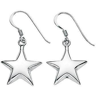 925 sølv ørering stjerner
