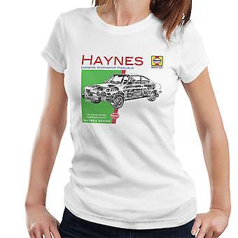 Haynes Owners Workshop Manual 0303 Skoda 110R Women's T-Shirt