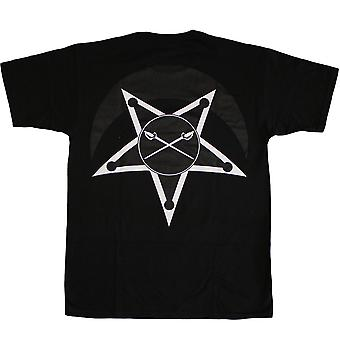 Black Scale Traditional Logo T-shirt Black