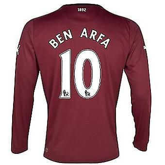 2012-13 Newcastle Long Sleeve Away Shirt (Ben Arfa 10)