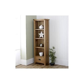 Birlea Malvern 1 Drawer Bookcase Oak