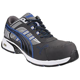 Puma Safety Mens Pace Blue Lace Up Safety Shoes