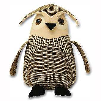 Riva Home Owl Tweed Doorstop