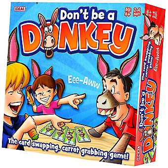 Ideal Don't Be A Donkey Card Game
