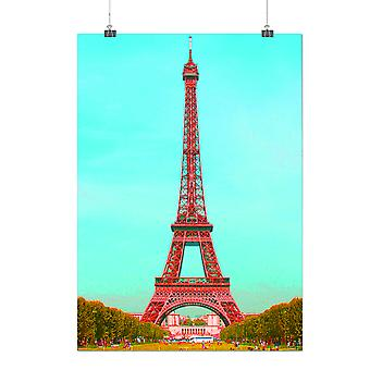 Matte or Glossy Poster with Paris Photo Park Fashion | Wellcoda | *q200