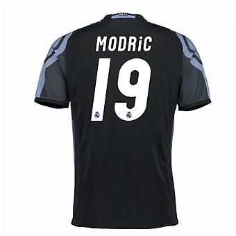 2016-17 real Madrid 3 ° maglia (Modric 19) - bambini