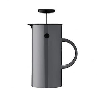 Stelton EM Insulated Press Tea Maker - Anthracite - 1L