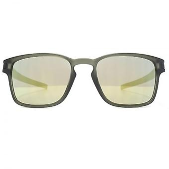 Oakley Latch Squared Sunglasses In Matte Olive Ink