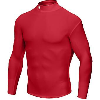 UNDER ARMOUR coldgear longsleeve kids [red]