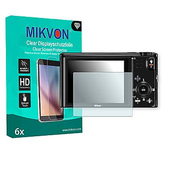 Nikon COOLPIX S9600 Screen Protector - Mikvon Clear (Retail Package with accessories)