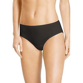 Mey 79844-928 Women's Joan Diamond Black Solid Colour Knickers Panty Brief