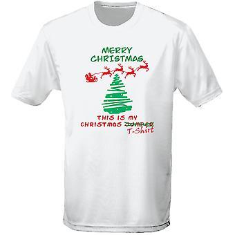 Christmas Jumper T-shirt Xmas Fancy Dress Kids Unisex T-Shirt 8 Colours (XS-XL) by swagwear