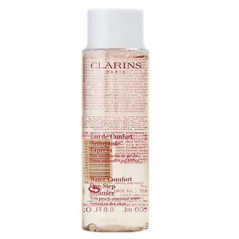 Clarins Water Comfort One Step Cleanser with Peach Essential Water 6.8 oz