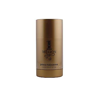 Paco Rabanne 1 Million Deodorant Stick 75gr Mens New Sealed Boxed