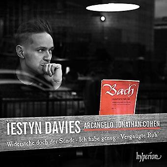 Bach / Davies, Iestyn - Cantatas Nos.52 & 54 & 82 & 170 [CD] USA import