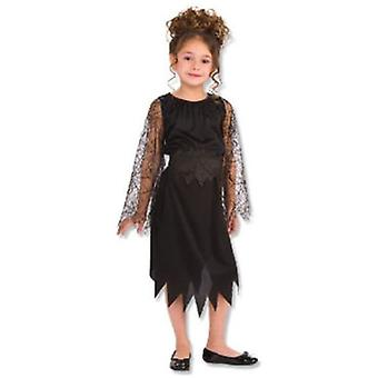 Rubie's Black Witch Costume Child (Babies and Children , Costumes)