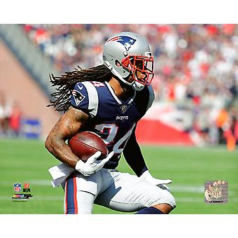 Stephon Gilmore 2017 Action Photo Print