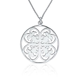 Orphelia Silver 925 Chain With Pendant Big Circle   ZH-6035