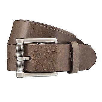 Strellson belts men's belts leather leather belt olive 2912