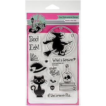 Pink & Main Clear Stamps 4