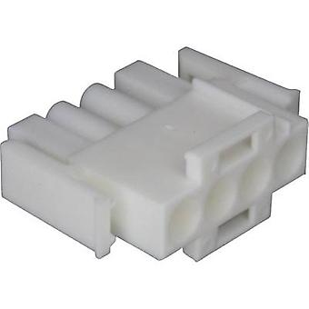 TE Connectivity Pin enclosure - cable Universal-MATE-N-LOK Total number of pins 4 350779-1 1 pc(s)