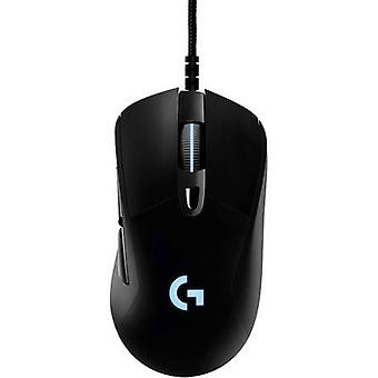 Logitech Gaming G403 Prodigy USB gaming mouse Optical Ergonomic, Backlit Black