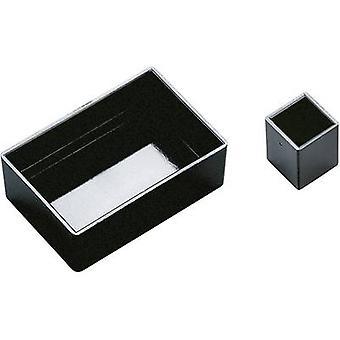 OKW A8045150 Module casing 45 x 30 x 15 Acrylonitrile butadiene styrene Black 1 pc(s)