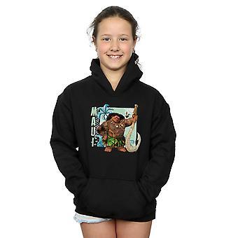 Disney Mädchen Moana Maui Hoodie