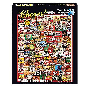 Cheers - Beer Labels 1000 Piece Jigsaw Puzzle 760Mm X 610Mm