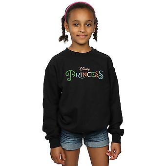 Disney Princess Mädchen Farbe Logo Sweatshirt