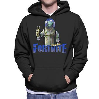 Leviathan Fortnite Mäns Hooded Sweatshirt