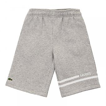 Lacoste Sport Juniors Fleece Shorts (Grey)