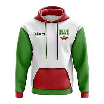 Iran koncept land fodbold hættetrøje (hvid)