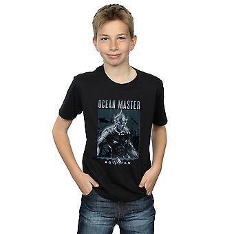 DC Comics Boys Aquaman Ocean Master T-Shirt