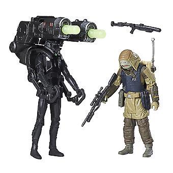 Star Wars Rogue en Imperial død Trooper & Rebel Commando Pao Deluxe