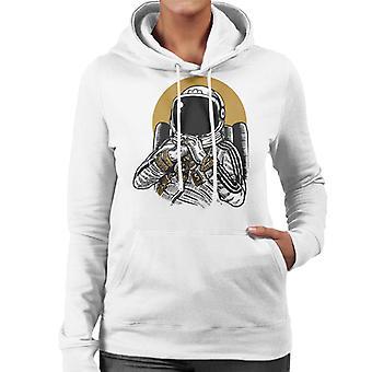 Ruimte DJ vrouwen de Hooded Sweatshirt