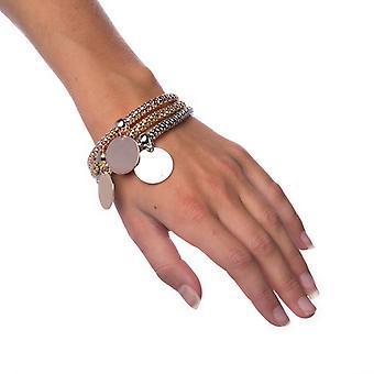 Armbånd-blandet metaller cirkel