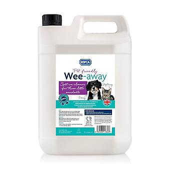 RSPCA 5L Pet Friendly Wee-Away Stain and Odour remover Probiotic Formula