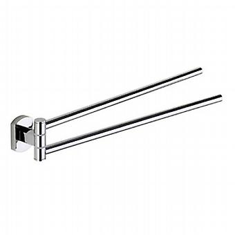 Gedy Edera Doppel Swing Towel Rail Chrom ED23 13