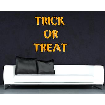 Trick Or Treat Halloween Wall Sticker