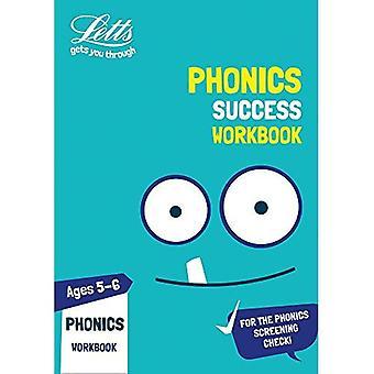 Phonics Ages 5-6 Practice Workbook (Letts KS1 Practice) (Letts KS1 Practice)