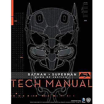V de Batman Superman: l'aube de la Justice: Tech Manual