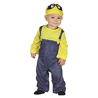 Toddlers Minion Fancy Dress Costume