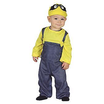 Los niños pequeños Minion disfraces