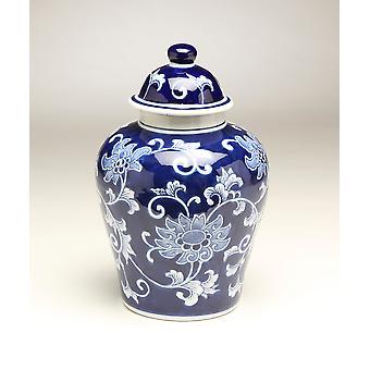 Importieren von 59946 10-Zoll-blau & weißer Ingwer Jar AA